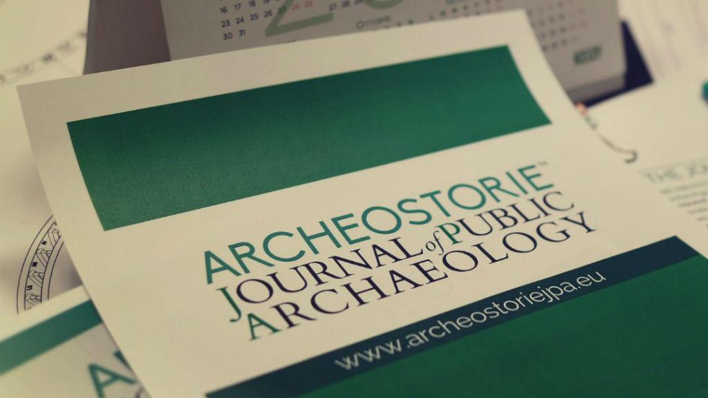 Archeostorie Journal of Public Archaeology