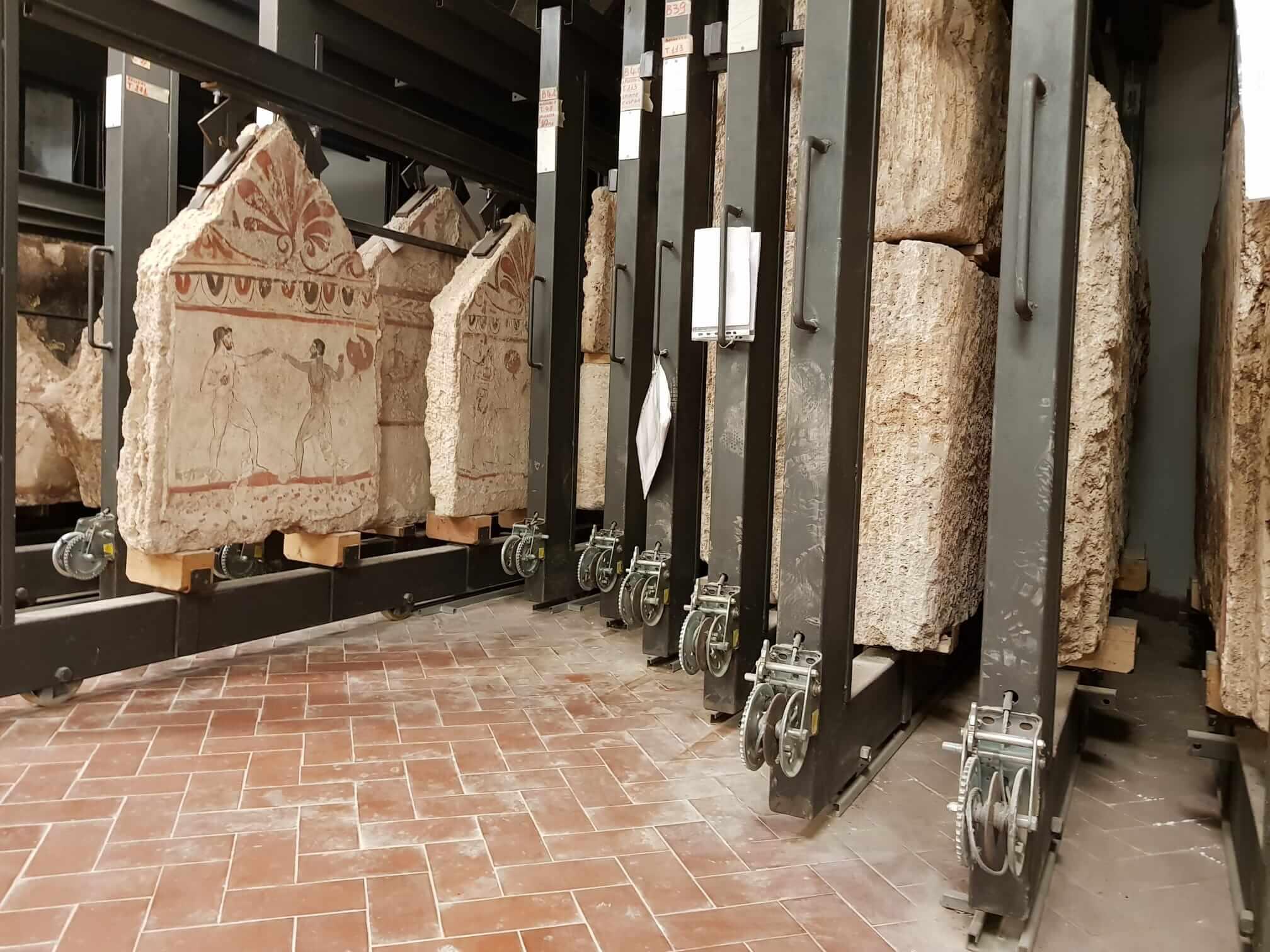 Depositi Museo di Paestum